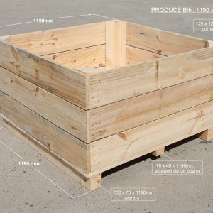 Apple Bin 1190mm x 1190mm x 610mm