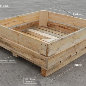Half Bin (with gaps), Timber Produce Bin, Marshall Pine, Timber Solutions