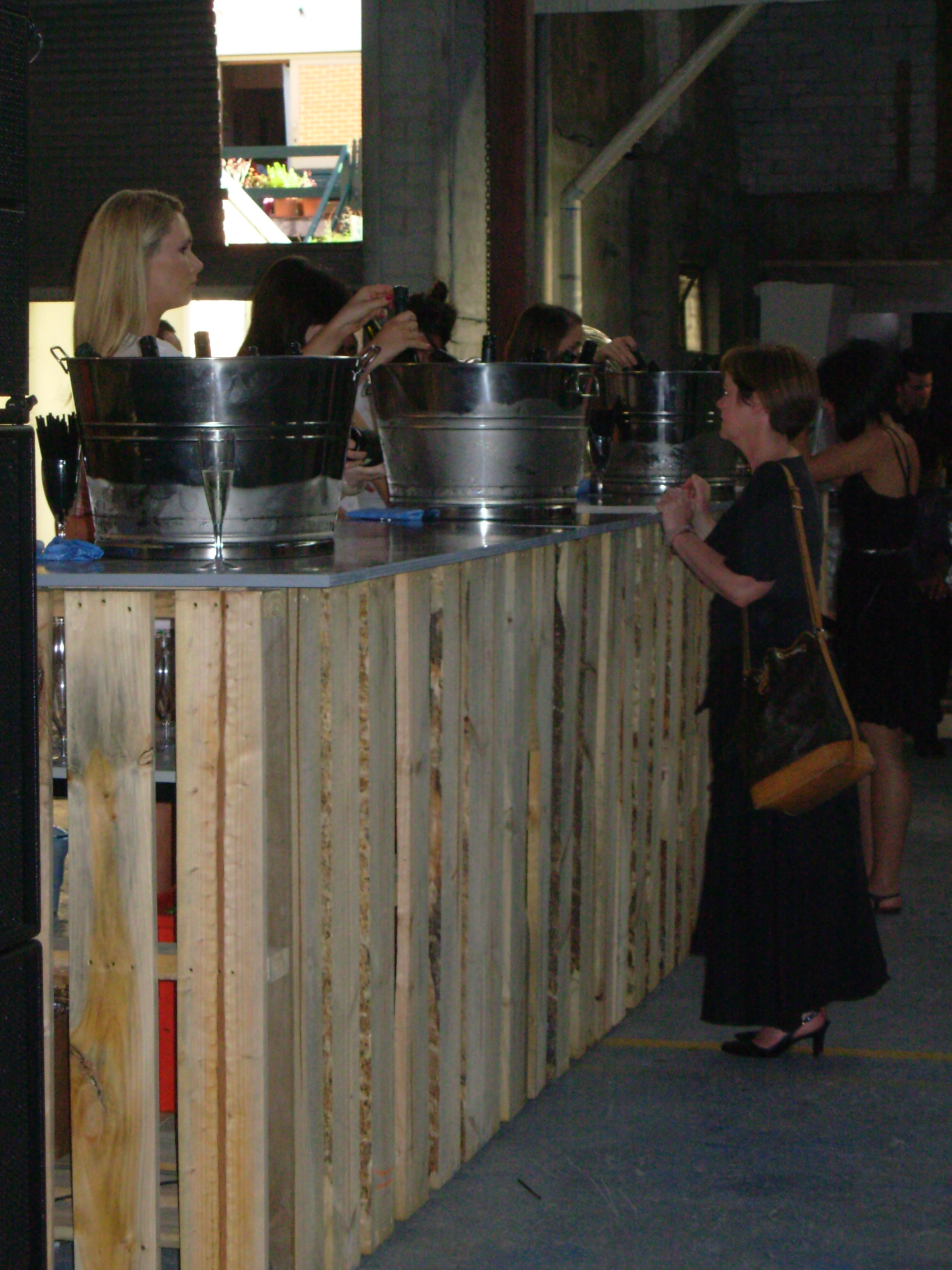 RMIT Exhibition The bar